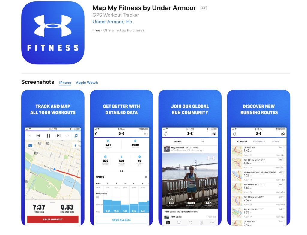 workout trainer, fitness apps