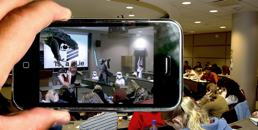Education and the Quest for Cosmic Knowledge Using AR